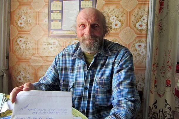 Фронтовик и поэт Михаил Чечин.