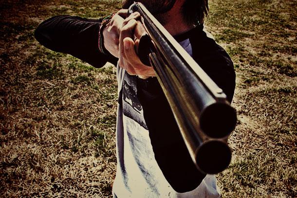 Охотничье ружьё.