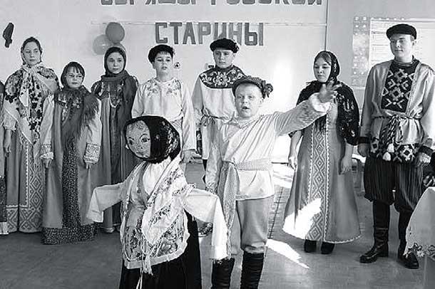 На масленичной неделе районного конкурса-фестиваля обрядовой культуры Орловского края, который состоялся в Доме детского творчества.