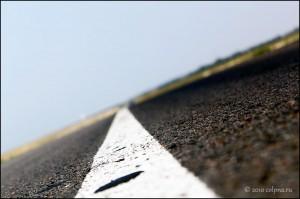 Дорога из Колпнянского раёна в Курскую область