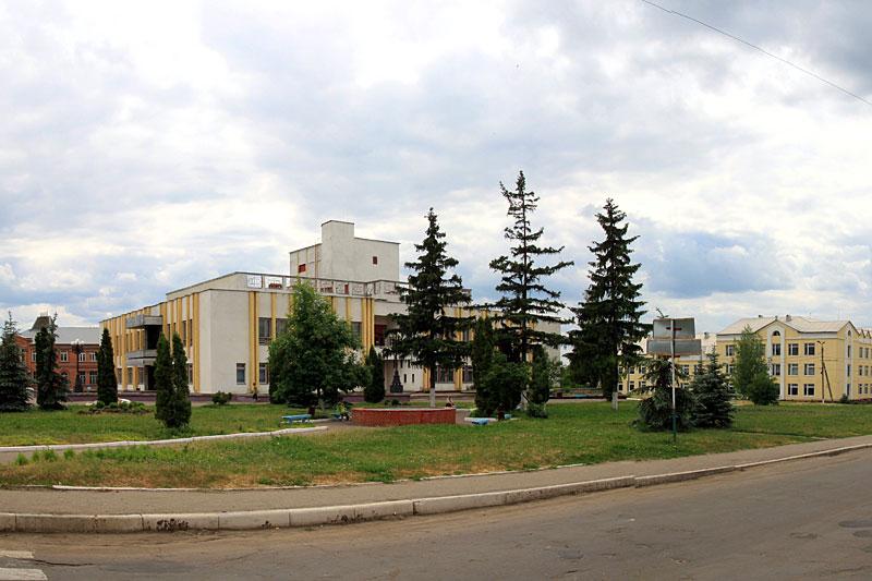 Панорама Колпны.