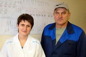 Специалисты ЗАО «Сахарный комбинат «Колпнянский».