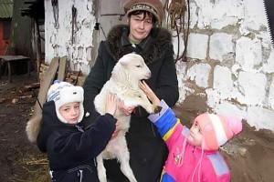 В семье Карловых любят животных.