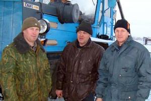 На снимке: Владимир Неведров, Алексей Куркин и Андрей Ерохин.