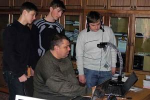Система интерактивного дистанционного обучения в Колпнянском лицее.