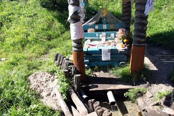 Андреевский источник в Колпнянском районе Орловской области.