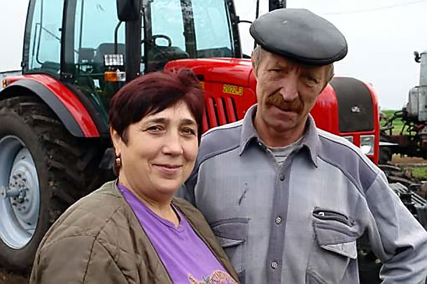 Татьяна и Сергей Костиковы.
